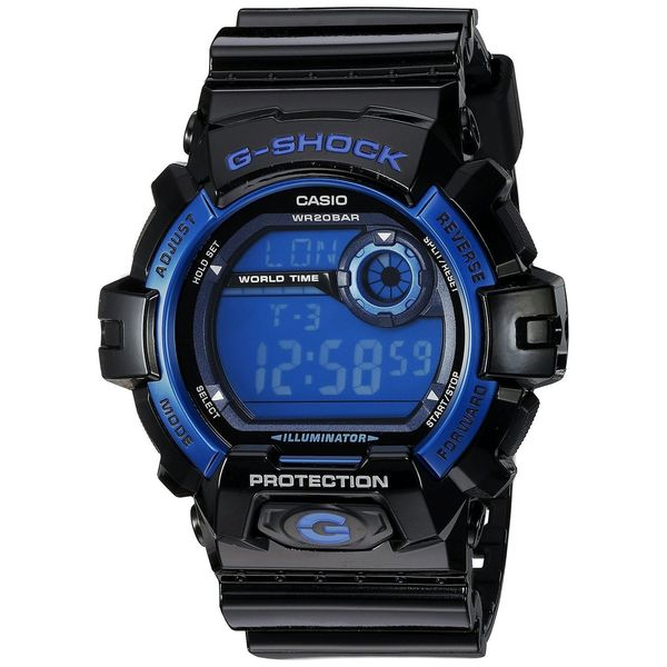 Casio Men's G-8900A-1CR 'G-Shock' Digital Black Resin Watch