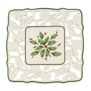 Lenox Holiday Porcelain Pierced Trivet