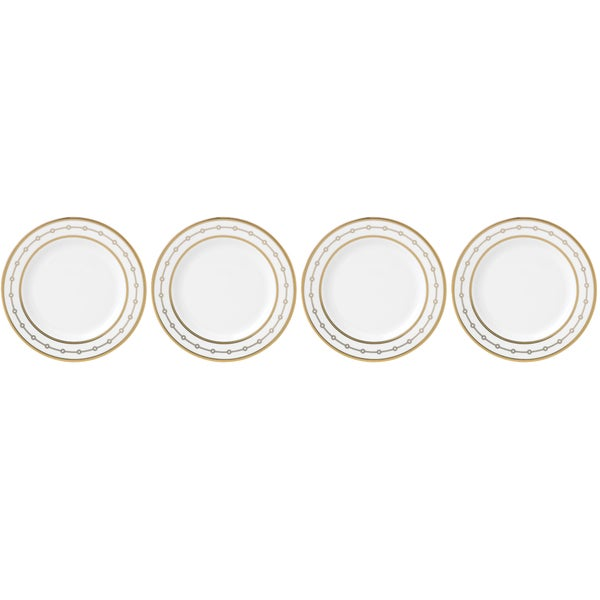 Lenox Jeweled Jardin Tidbit Plates (Pack of Four)