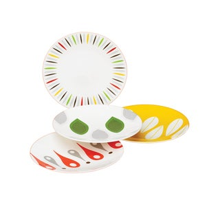 Dansk Burbs Melamine Party Plates (Pack of 4)