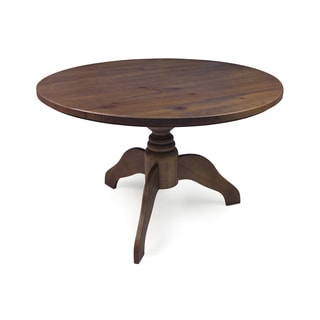Class Rustic Cinnamon 45-inch Round Dining Table