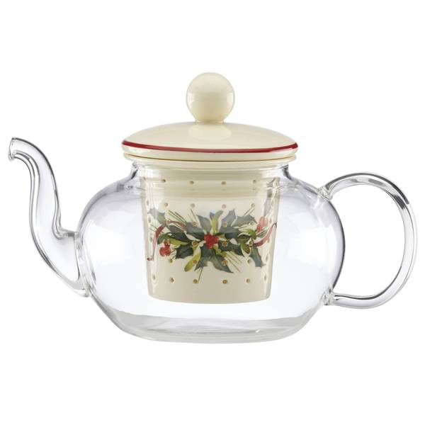 Lenox Winter Greetings Tea-for-one Teapot and Infuser