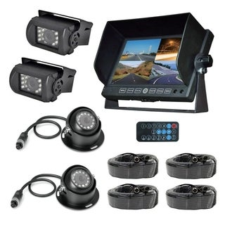 Pyle Black DVR Multi-camera and Monitor System