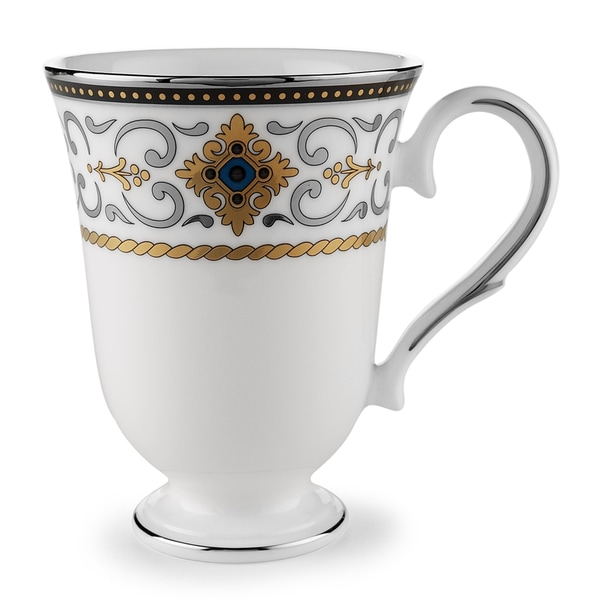 Lenox Vintage Jewel 24k Gold Accent Mug