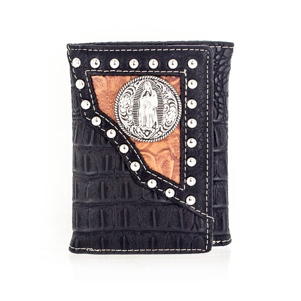 Faddism YL Series Men's Leather Trifold Wallet
