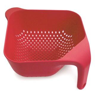 Joseph Joseph Red Plastic Square Colander