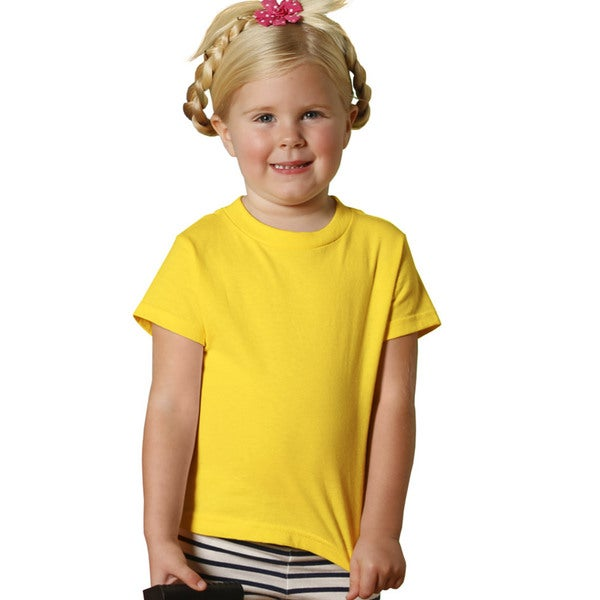 Youth Yellow Short-sleeved Jersey Shirt