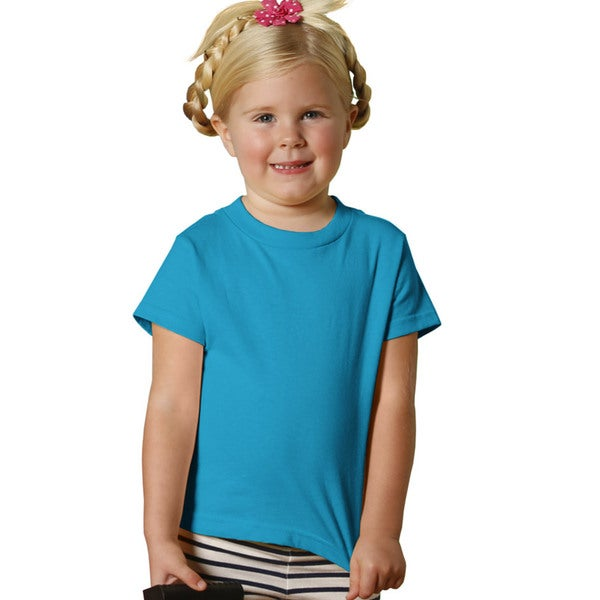 Youth 5.5-ounce Turquoise Jersey Short-sleeve T-shirt