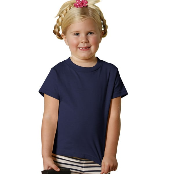 Youth Navy Short-sleeve Jersey Shirt
