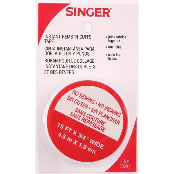 "Singer 00241 3/4"""" X 15' Instant Hems 'N Cuffs Tape"