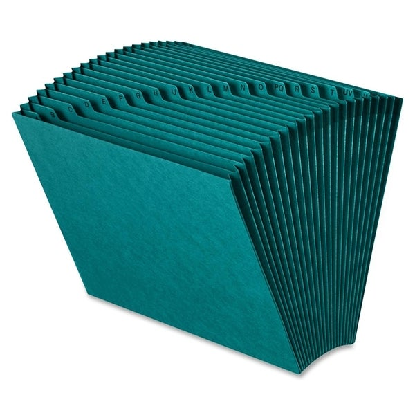 Smead 70717 Teal Colored Expanding Files - Teal