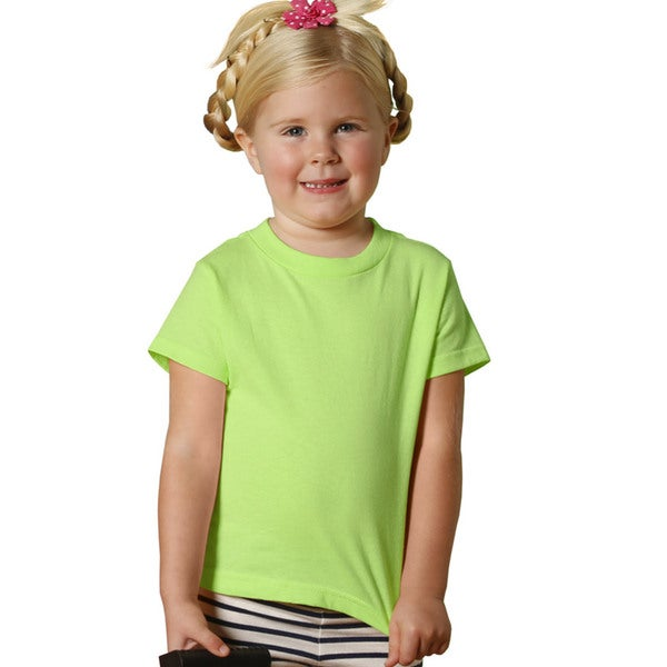 Youth 5.5-ounce Jersey Key Lime Cotton/Polyester Short-sleeve T-shirt