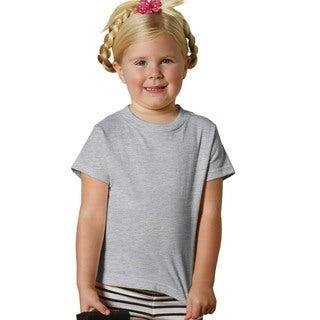 Children's Heather Short-sleeve Jersey T-shirt