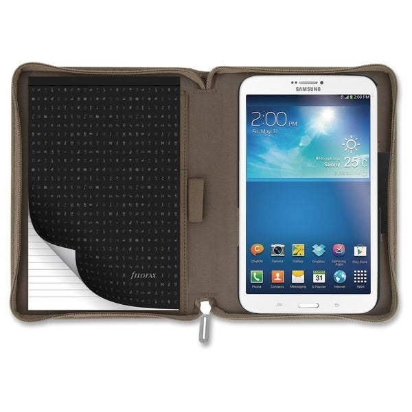"Filofax Carrying Case for 8"" Tablet - Tan - Tan"