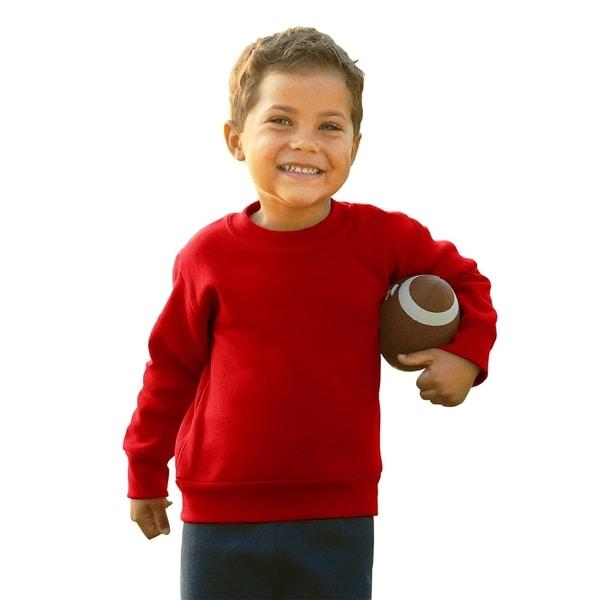 Boys' Red Fleece Sweatshirt