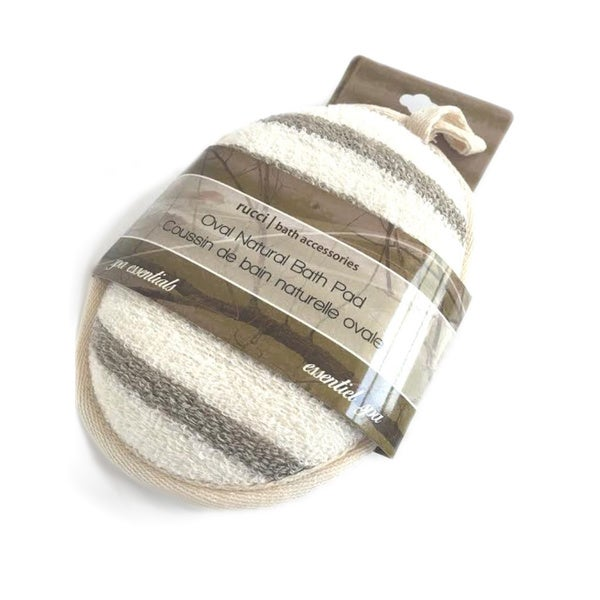 Oval Natural Bath Pad