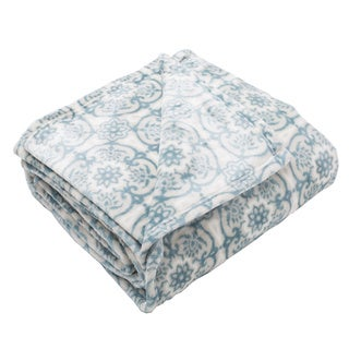 Home Fashion Designs Tasha Collection Seville Ultra Velvet Plush Fleece Luxury Blanket