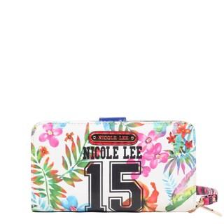 Nicole Lee White Numeric 15 Print Wallet