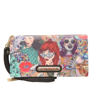 Nicole Lee Shelby Punky Print Wallet