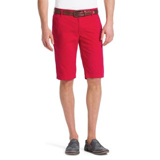 Hugo Boss Clyde 1-D Red Cotton Shorts