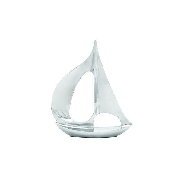 Alum Sailboat Sculpture 20 W x 25 H