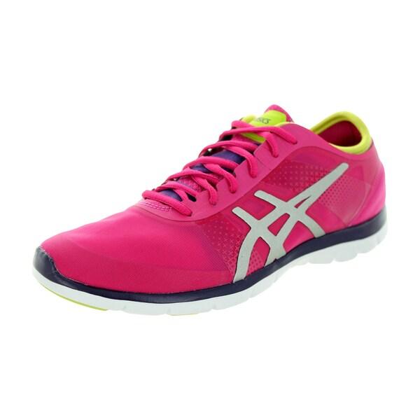 Asics Women's Gel-Fit Nova Hot Pinkver/Lime Training Shoe