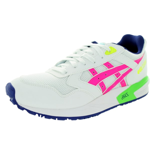 Asics Women's Gelsaga White/Pink Running Shoe