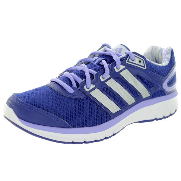 Adidas Women's Duramo 6 Purplever Metallic/White Running Shoe