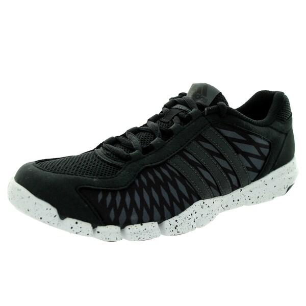 Adidas Women's Adipure 360 Control Black/Black/White Running Shoe
