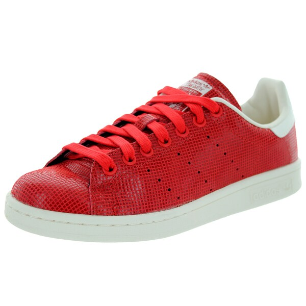 Adidas Women's Stan Smith W Red/Red/Cwhite Casual Shoe