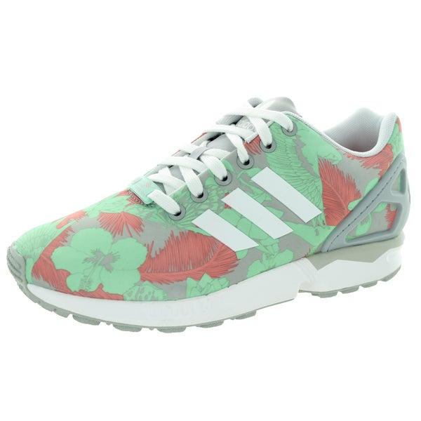 Adidas Women's Zx Flux W Originals Clonix/White/VisPink Running Shoe