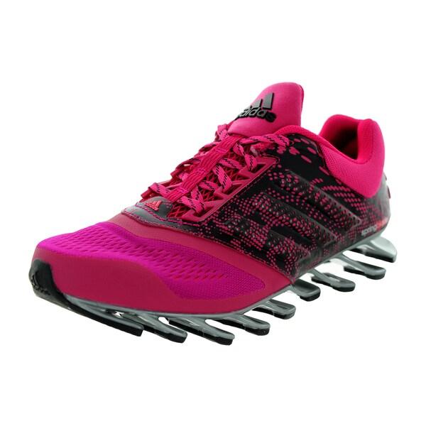 Adidas Women's Springblade Drive 2 Bold Pink Metallic/Black Running Shoe