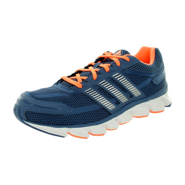 Adidas Women's Powerblaze W Vista Blue/Collegiate Navy/Flash Orange Running Shoe