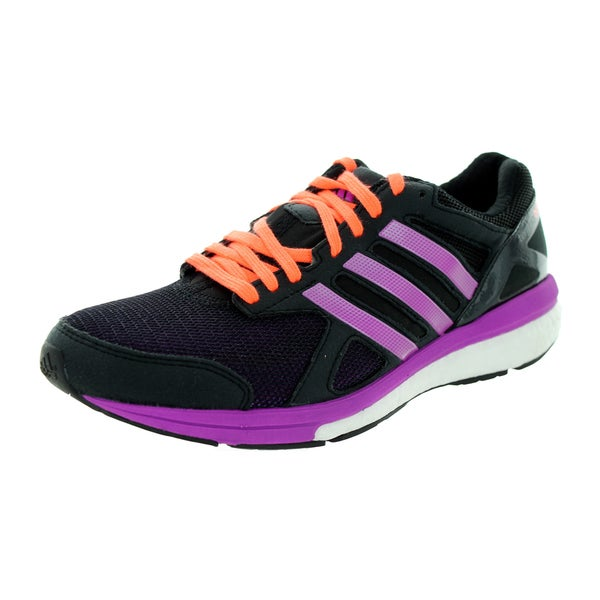 Adidas Women's Adizero Tempo 7 W Black/Purple/Peach Running Shoe
