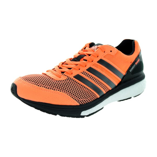 Adidas Women's Adizero Boston 5 W Flash Orange Running Shoe