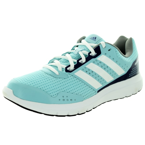 Adidas Women's 7 W Light Blue/Navy Blue/White Running Shoe