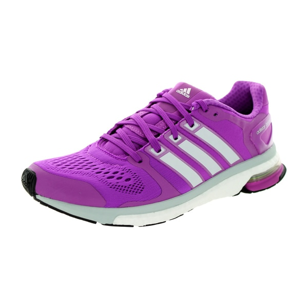 Adidas Women's Adistar Boost W Esm Purple/Grey Running Shoe