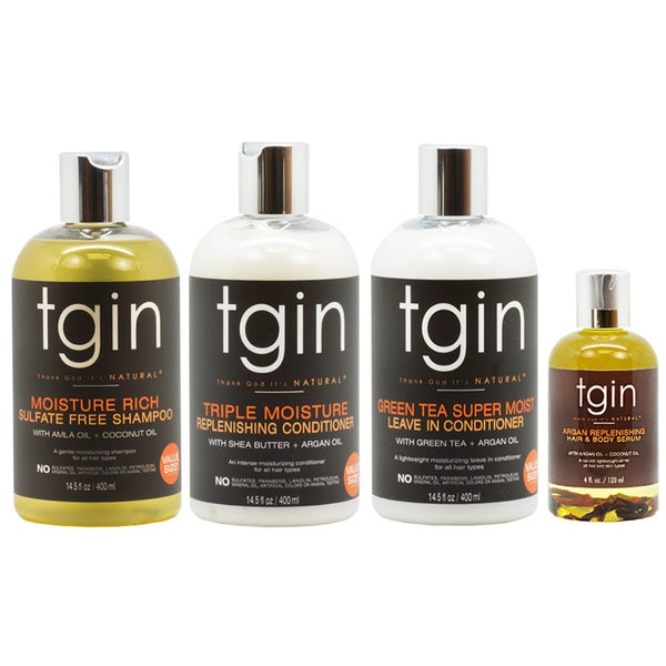 TGIN Moisture 4-piece Hair Care Kit