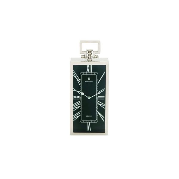 Stainless Steel Table Carriage Clock