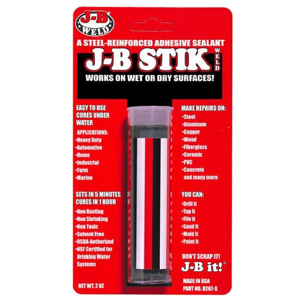 JB Weld 8267-S 2.8 Oz J-B Stik Weld