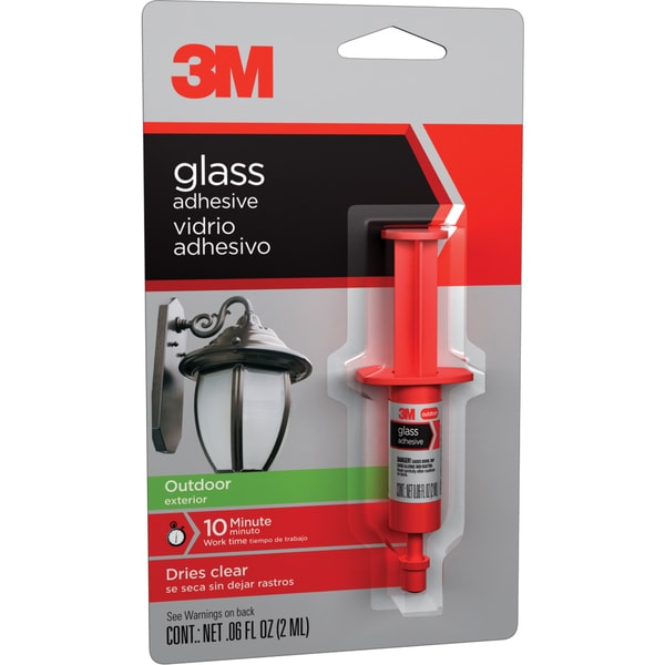 3M 18051 .06 Oz Outdoor Glass Adhesive
