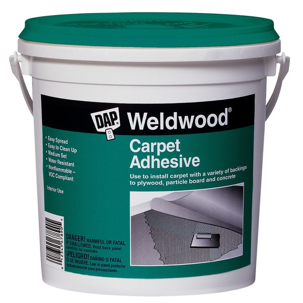 Dap 00185 Quart Weldwood Carpet Adhesive