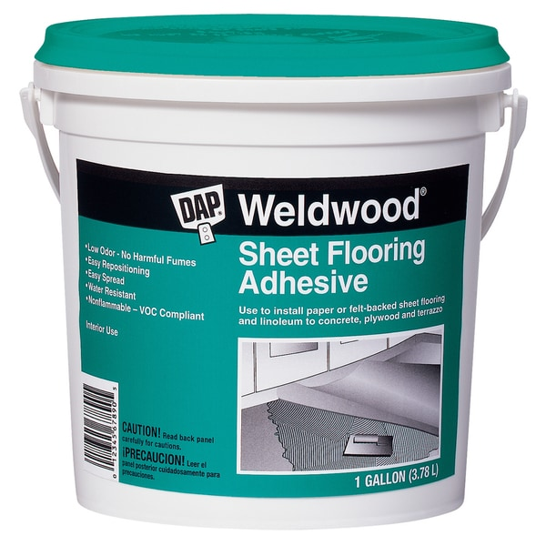 Dap 25178 1 Gallon Weldwood Sheet Flooring Adhesive