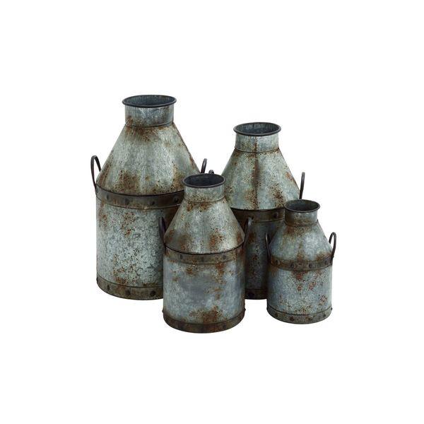 Metal Pots (Set of 4)