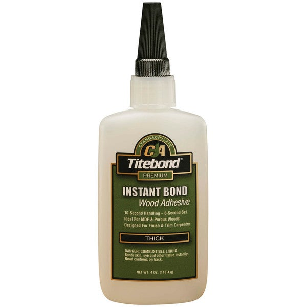 Titebond 6222 4 Oz Titebond Thick Instant Bond Wood Adhesive