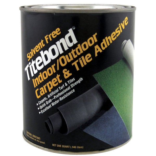 Titebond 5145 1 Quart Solvent Free Indoor & Outdoor Carpet & Tile Adhesive