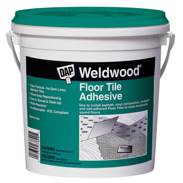 Dap 00136 Quart Weldwood Floor Tile Cement