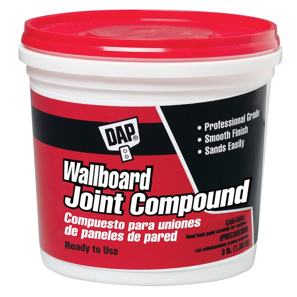 Dap 10100 3 Lb Wallboard Joint Compound