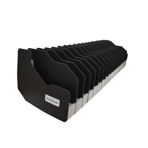 Benchmaster - Weapon Rack - Eighteen (18) Gun Pistol Rack - Gun Safe Storage Accessories - Gun Rack