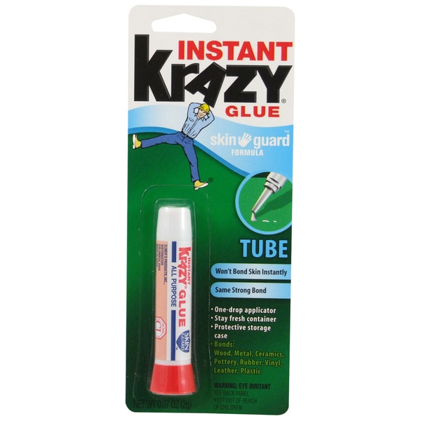 Krazy Glue KG78548R All Purpose Krazy Glue Skin Guard Formula